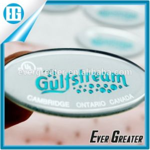 Customized 3m Glue Waterproof Doming Sticker 3D Look pictures & photos