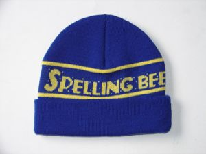 Custom Knit Embroidery Beanie Winter Cap pictures & photos