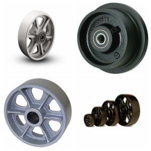 Customized Precision Casting Railway Steel Wheels pictures & photos
