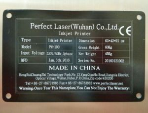 10W 20W 30W Portable Laser Marking Machine for Sale pictures & photos
