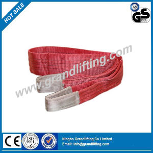 5t 100% Polyester Lifting Webbing Sling Cargo Lashing Straps pictures & photos