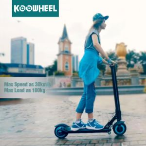 Koowheel 500W Folded Lithium Electric Kick Scooter New Version pictures & photos