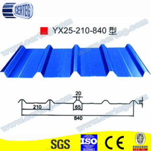 840 Prepainted Coated Metal Roof Tile pictures & photos