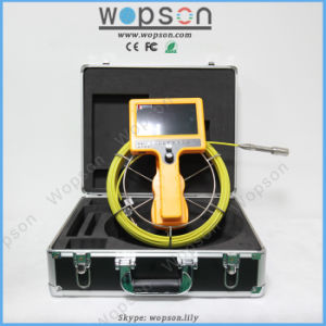 Staniless Steel Lens 35m Underwater Inspection Camera/Pipe and Wall Inspection/ Snake Video Pipe Inspection Camera System pictures & photos