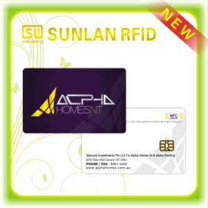 Free Sampels Customized RFID Smart Contact IC Card with Nice Price pictures & photos