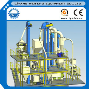 Complete Feed Mill Plant Feed Pellet Mill for Sale pictures & photos