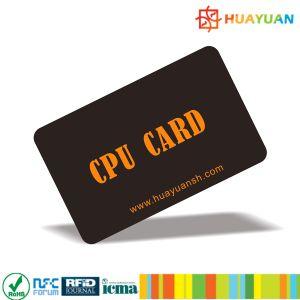 High security E-purse FM1280 contact/contactless/dual-interface CPU card pictures & photos