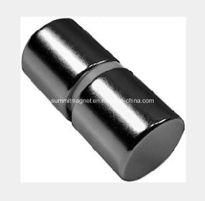 Neodymium Magnets Cylinder with Nickel Coating pictures & photos