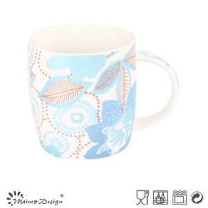 Round Shape Decal Flower Design Mug pictures & photos