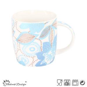 Round Shape Decal Flower Design Mug pictures & photos