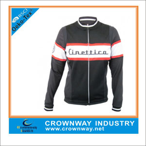 Custom Waterproof Bike Winter Cycling Jacket for Men pictures & photos