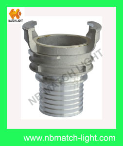 French Type Guillemin Aluminum Fitting with Serrated Hose End pictures & photos