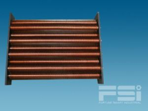 Copper Finned Tube Heat Exchanger 616 pictures & photos