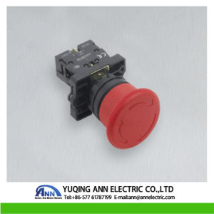 Xb2-Es 30mm 40mm 60mm Mushroom Emergency Stop Plastic IP40/IP65 Waterproof Electrical Push Button pictures & photos