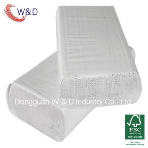 1ply Virgin Multifold / M-Fold Interleaved Hand Towels Paper (WD001-16150A) pictures & photos