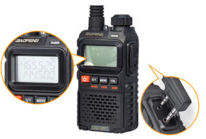Dual Band Two Way Radio Walkie Talkie Bf UV-3r+ pictures & photos