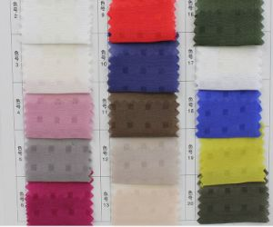 9m/M 30%Silk 70%Bamboo Checked Fabric pictures & photos
