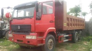 China Made Used Dump Truck HOWO Truck for Sale pictures & photos