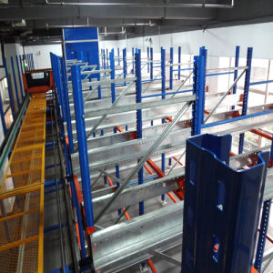 Radio Shuttle Racking for Cold Warehouse Storage pictures & photos