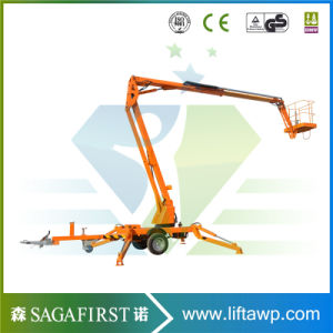 Aerial Hydraulic Towable Trailed Electric Articulating Boom Lift pictures & photos