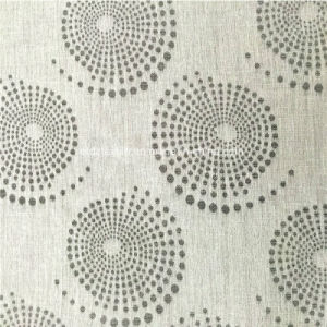 American Prefer Linen Style 100% Polyester Piece Dyed Curtain Fabric pictures & photos