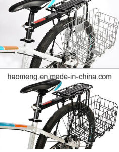 Black Folding Steel Bicycle Basket pictures & photos