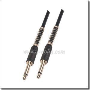 Spiral Shielding Black Guitar Cable (AL-G030) pictures & photos