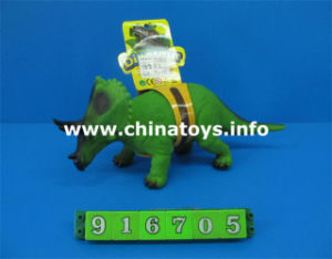 Promotional Cheap Soft Plastic Dinosaur Toy with IC (916705) pictures & photos