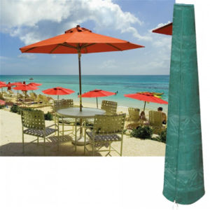PVC Backed Polyester Umbrella Cover pictures & photos