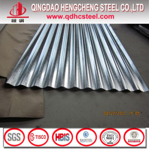 Dx51d Zinc Coated Corrugated Steel Roofing Sheet pictures & photos