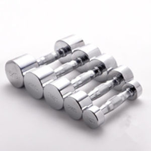 High Quality Durable Stainless Steel Chromed Dumbbell pictures & photos
