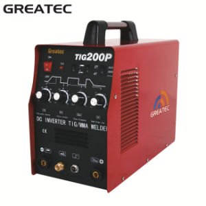Inverter DC Welder Pulse TIG Welding Machine (TIG200P)