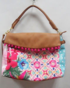 Hot Fashion Print Lady Cross Designer Handbags with SGS (A-00) pictures & photos