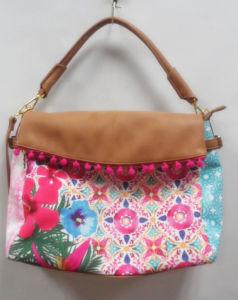 Hot Fashion Print Lady Cross Designer Handbags with SGS (A-00)