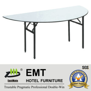 Hotel Banqueting Hall Foldable Banquet Table (EMT-FT606) pictures & photos