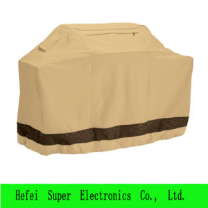 Dustproof Dustproof PU Coated Colorful Canvas BBQ Grill Cover pictures & photos