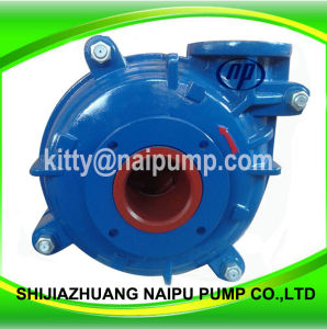 8/6 E-Ah High Chrome Alloy Metal Liner Slurry Pump pictures & photos