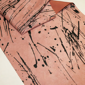 Fashion Printing Suede Fabrics for Fall/Winter