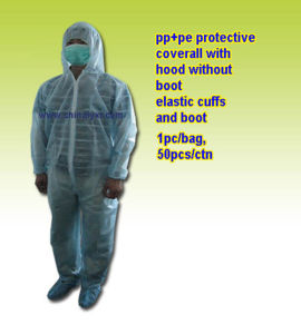 Hot Sell PP+PE Protective Coverall (LY-NPCH-B) pictures & photos