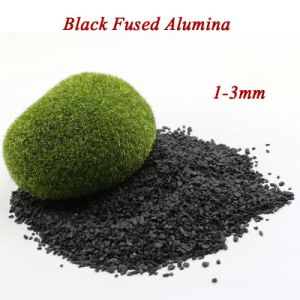 Factory Supply Black Fused Alumina with Favourable Price pictures & photos