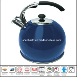 3L Color Stainless Steel Whistle Kettle Kitchenware pictures & photos