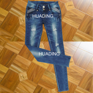OEM Custom Newest Fashion Denim Jeans (HDLJ0042) pictures & photos