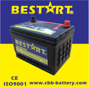 12V50ah DIN 58500mf Korea Quality Lead Acid Maintenance Free Car Battery pictures & photos