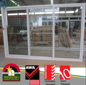 PVC Sliding Open Style Glass Door and Window for Office pictures & photos