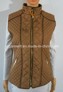Reporter Muliti Pockets Padded Jacket/Waistcoat for Women/Lady pictures & photos