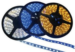 12V 60LED SMD3528 Warm White Nature White Flexible LED Strip Lighting with CE RoHS (ST3528-12-6001) pictures & photos