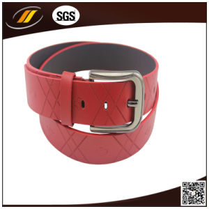 2015 High Quality Men′s Genuine Spanish Leather Belt