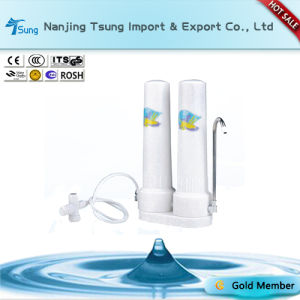 Counter Top Water Purifier Two Stage for Home Use pictures & photos