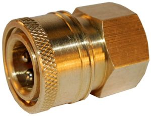 CNC Machining Manufacturing Brass Female Garden Hexagon Hose Quick Release Coupler pictures & photos