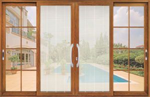 Fuxuan Good Quality Aluminium Double Glazing Sliding Windows/Aluminum Window pictures & photos